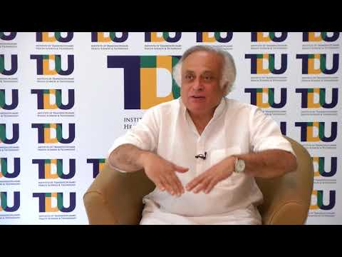 Shri. Jairam Ramesh talks about the relevance of TransDisciplinarity in UN-SDGs