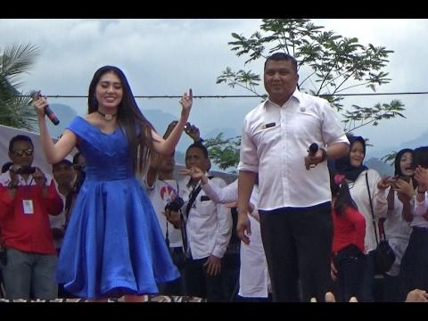 Birunya Cinta - Via Vallen LIVE Stadion Kolopaking Banjarnegara Kampanye AKBAR CABUP Banjarnegara