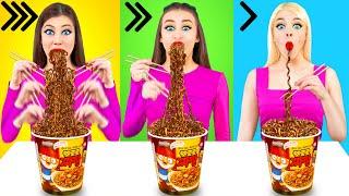 تحدي الطعام السريع أو المتوسط أو البطيء #2
