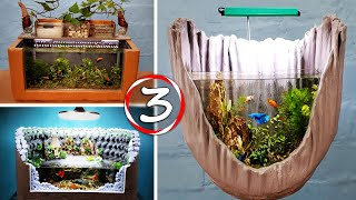 3 AMAZING IDEAS - Diy Aquarium…