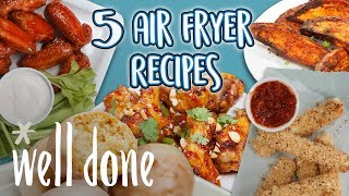 5 Air Fryer Recipes | Airfryer Oven Recipe Compilation | Well Done