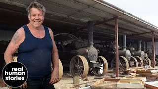 A Man's Obsession With Steam Traction Engines