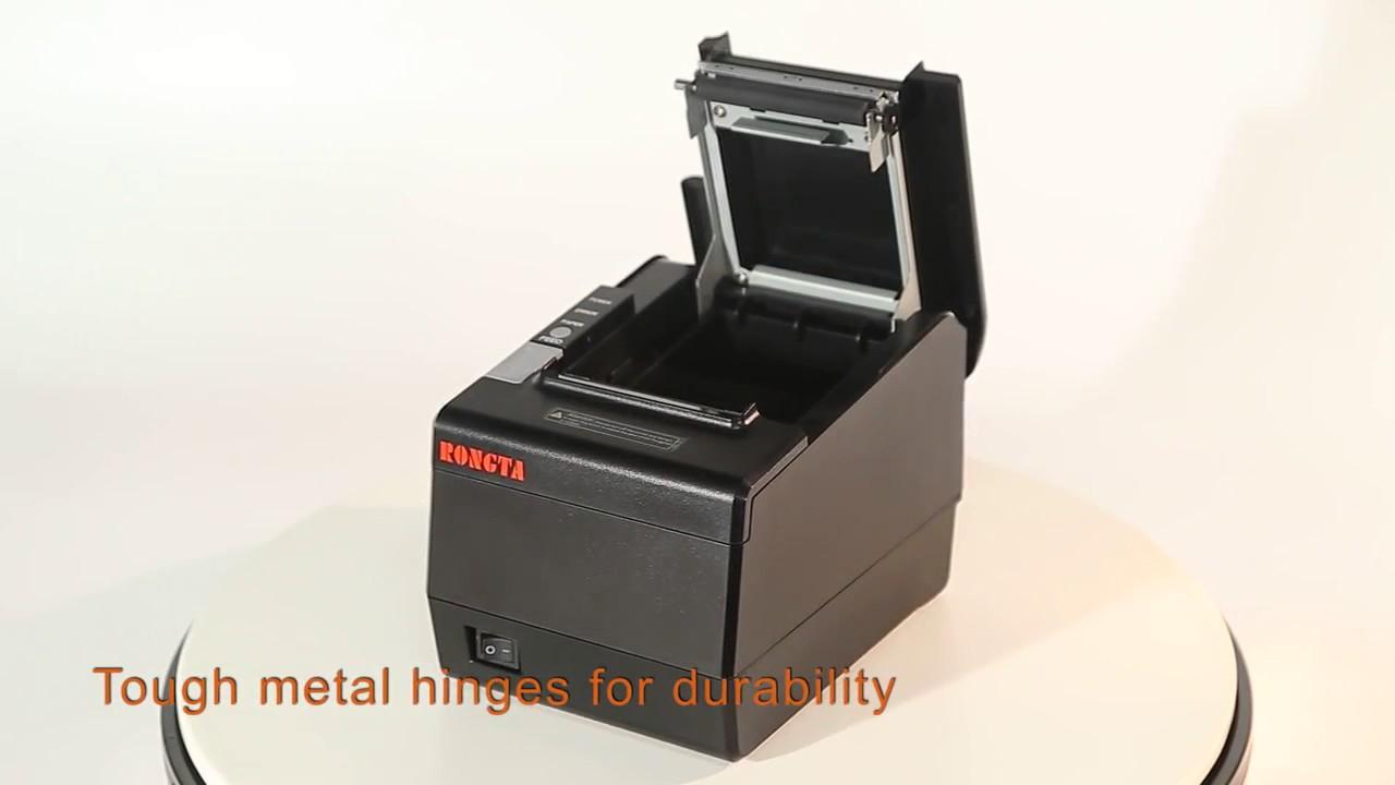 Rongta thermal receipt printer RP850 เครื่องพิมพ์ ใบเสร็จอย่างย่อ