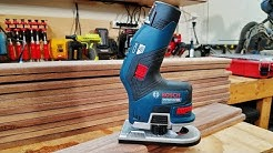 Bosch 12V Cordless Brushless Trim Router Review