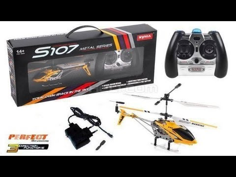Syma S107g Rc Helicopter Unboxing Review Youtube