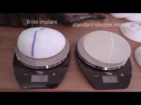 B-lite breast implants