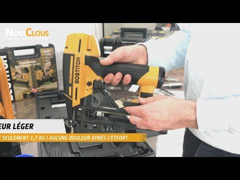 BOSTITCH FN1664SP-E : La technologie Smarpoint pour vos finitions !