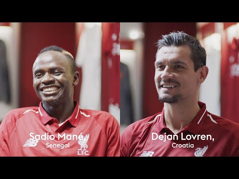 Interview with Dejan Lovren and Sadio Mane about living abroad