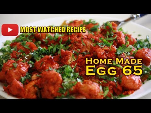 Cooking Simple Egg 65 || Crazy Foods ||