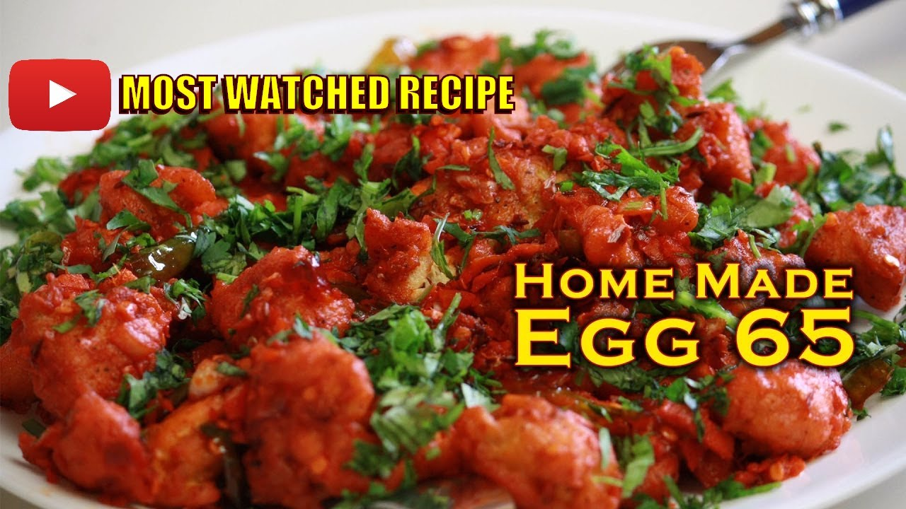 Cooking Simple Egg 65 Crazy Foods