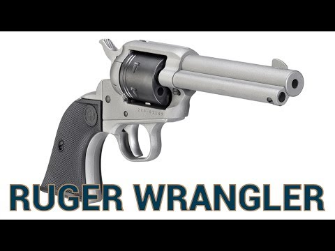 The New Ruger Wrangler  22 Single Action Revolver - YouTube