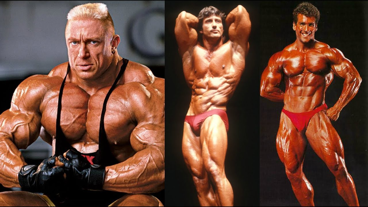 20 Famous Bodybuilders Then and Now