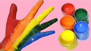 JE PEINS MES MAINS ! - Peinture à couleurs pour enfants