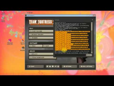 Team Fortress 2 - Texture Value errors