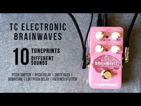 TC Electronic Brainwaves Pitch Shifter - 10 Different Sounds / TonePrints