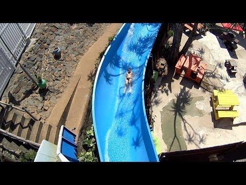 Blue Whale Water Slide at Splash Waterworld