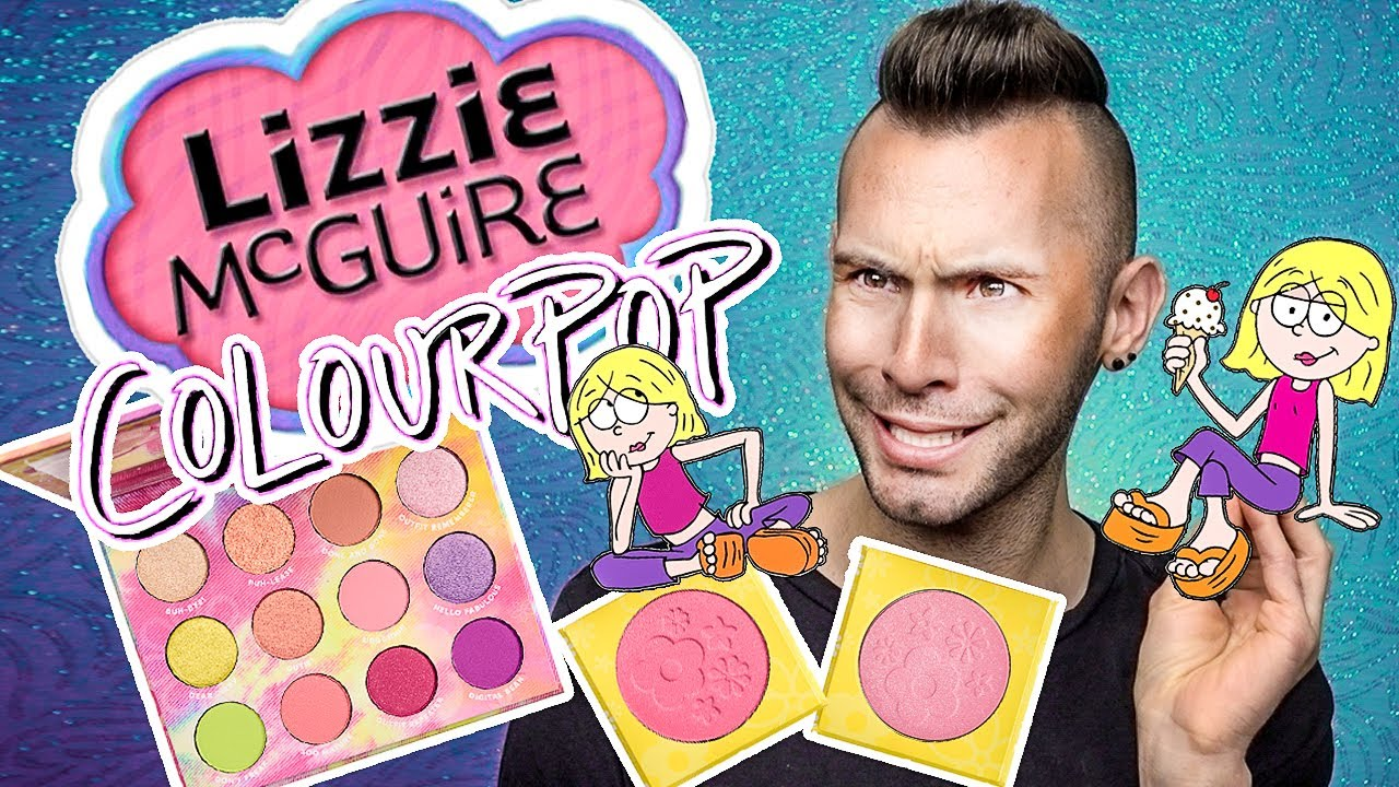 OMG Nostalgia!! Lizzie McGuire x ColourPop Review + GIVEAWAY NO BULLSH*T
