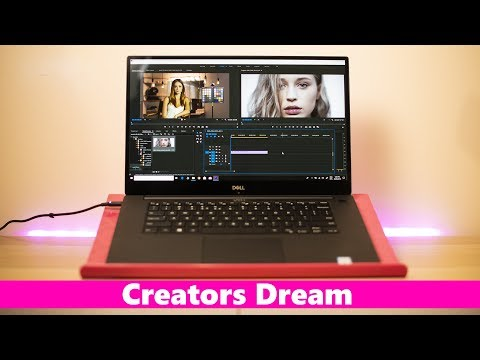 Dell XPS 15 9570 Creators Review - Video Editing Photography and 3D - 2018 Coffee Lake 🔥🔥🔥