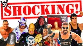 MOST SHOCKING WWE Action Figures