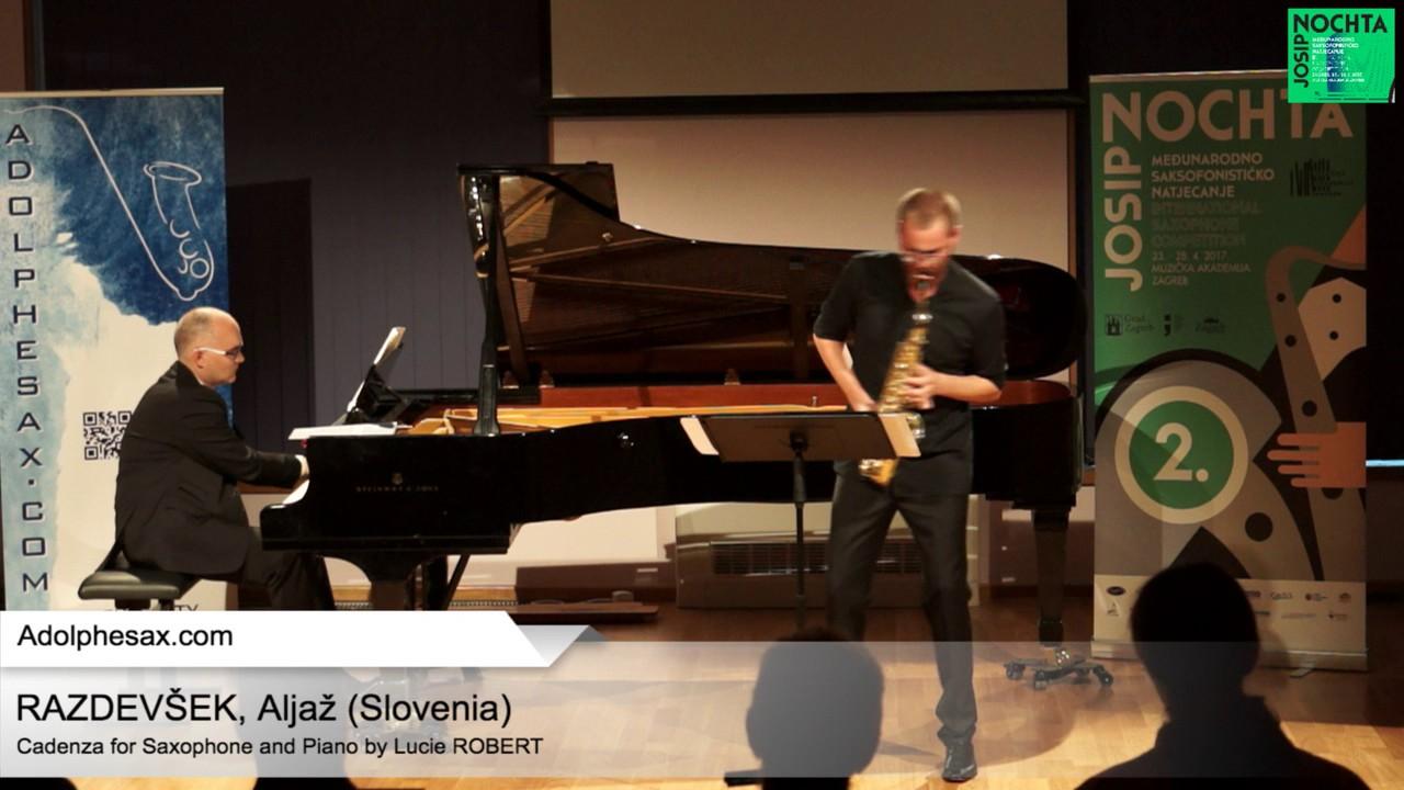 Cadenza by Lucie Robert  – RAZDEVS?EK, Aljaz? (Slovenia)