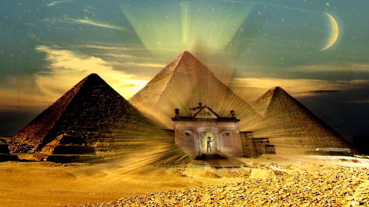 3d Pyramid Wallpaper Fantasy And Desert Music Priest Of Anubis Youtube