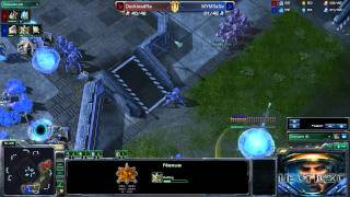 HD SC2 - WhiteRa vs SaSe - PvP - Metalopolis