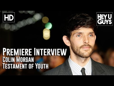 Colin Morgan Interview - Testament of Youth LFF Premiere