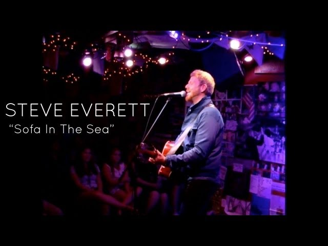 "Steve Everett ""Sofa In The Sea"" (at Downstairs Live)"