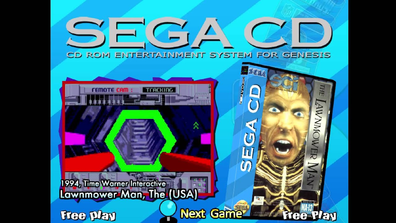 Hyperspin Sega Cd Wheel Youtube