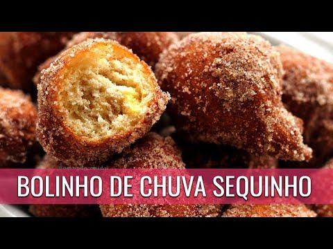 BOLINHO DE CHUVA SEQUINHO COM BANANA FÁCIL COM ÁGUA