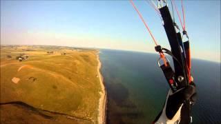 Paragliding Sweden Hammars backar och Ale Stenar 2012
