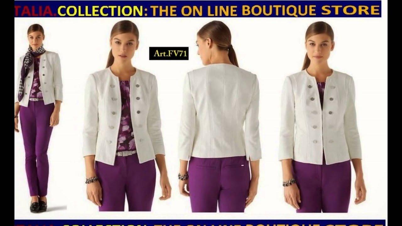 Blusas de vestir para oficinas 2017 youtube for Colgadores de ropa de pared