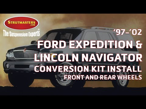 How To Fix The Rear And Front Suspension On A Lincoln Navigator Or Ford Expedition (19972002