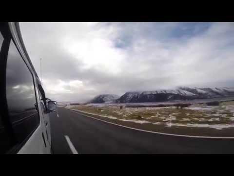 Drive to Aoraki/Mount Cook National Park