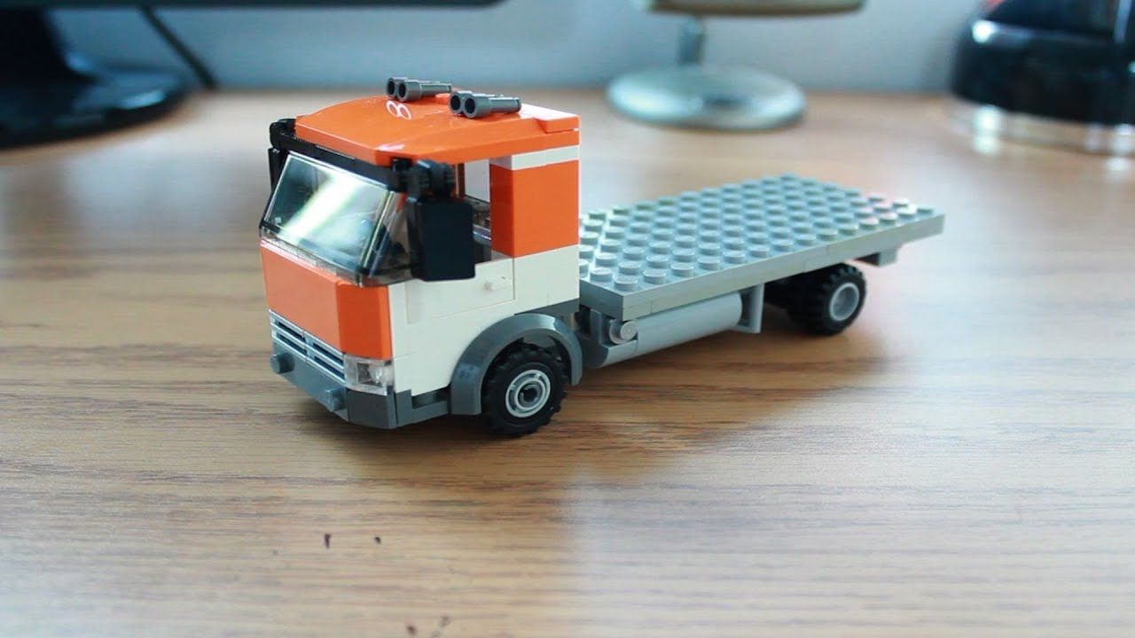 Custom LEGO Vehicle: Flatbed Truck - 162.4KB