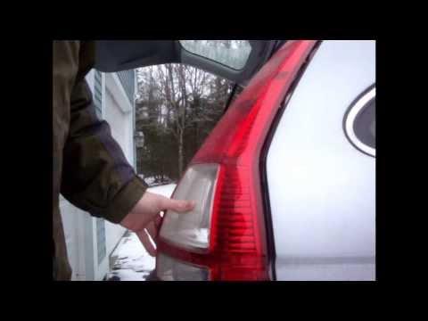 Honda CR-V Tail Light Bulb Replacement (2007-2012)