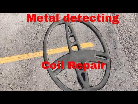 #08 Metal detector coil repair