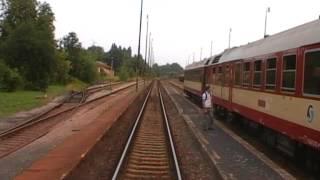 Cabview S bahn Prague line S3 Vsetaty Vrsovice full