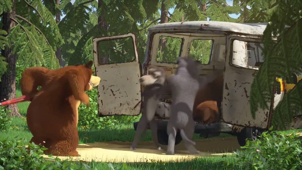 Видео секс маша и медведь