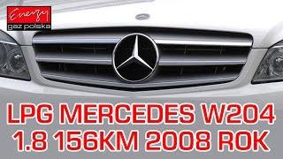 Montaż LPG Mercedes W204 z 1.8 156KM 2008r w Energy Gaz Polska na gaz BRC SQ 32 OBD(, 2017-01-17T20:08:02.000Z)