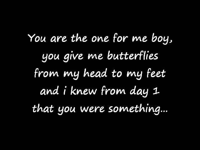 you give me the butterflies