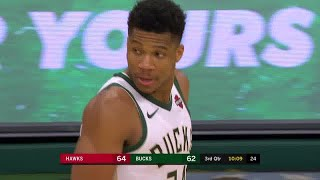 Giannis Antetokounmpo Full Play vs Atlanta Hawks | 11/27/19 | Smart Highlights