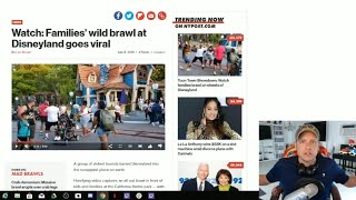 Disneyland FIGHT - What Happened To Disney Security?