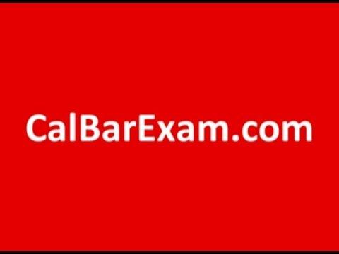 The California Attorney Examination