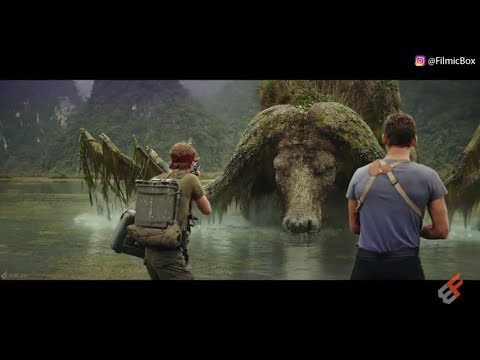 Giant Buffalo Scene / Sker Buffalo   Kong Skull Island (2017)   Movie Clip 4K