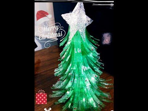 DIY: Árvore de Natal com garrafa pet