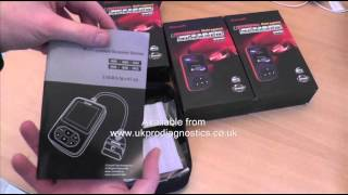 Volvo i906 iCarsoft Multi System Diagnostic Kit Box Opening