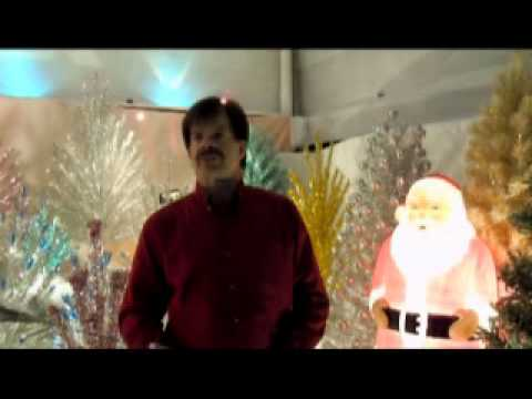 Penetray Vintage Christmas Color Wheel For Aluminum Xmas Tree Youtube