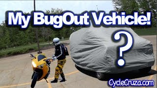 Bug Out Vehicle Unveiling | Motorcycle Hauler Camper