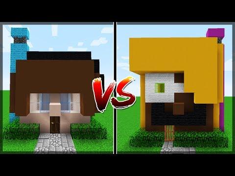 Minecraft: CASA AUTHENTIC GAMES VS CASA MALENA!!!